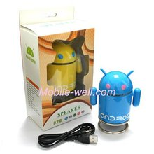 Mini speaker/sound with Android Robot shape