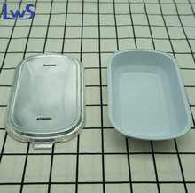 Wholesale High Quality Airline Food Packaging Disposable Smooth Wall Aluminum Foil Container