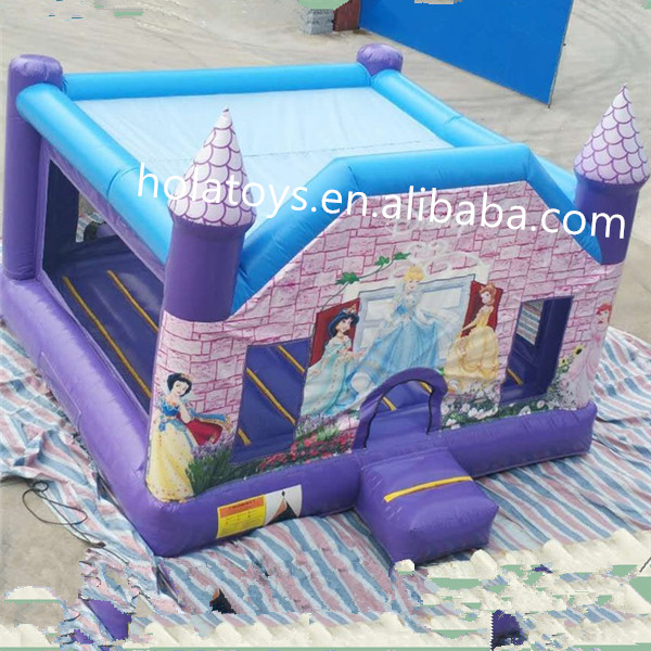 Hola princess commercial bounce house/princess inflatable castle/bounce house