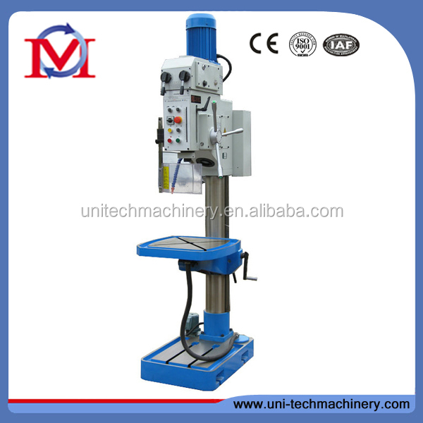 Electronic power feed GEARED HEAD DRILLING MACHINE