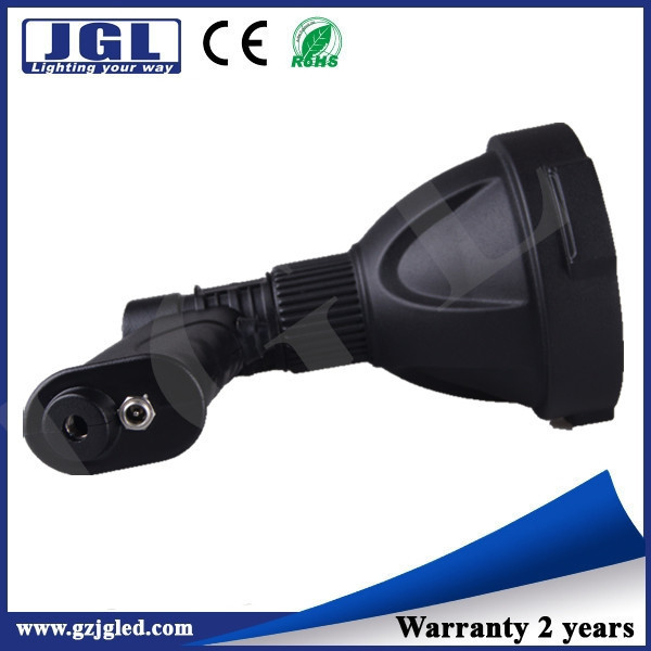 guangzhou Super lighweight Cree led 25w single bulb spotlight NFC96-25W black hand held hunting lights