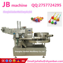 shanghai factory high speed JB-120 automatic fruit ball lollipop wrapping machine in China