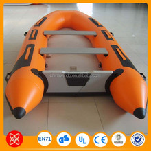 Big discount qualified PVC inflatable pontoon boat