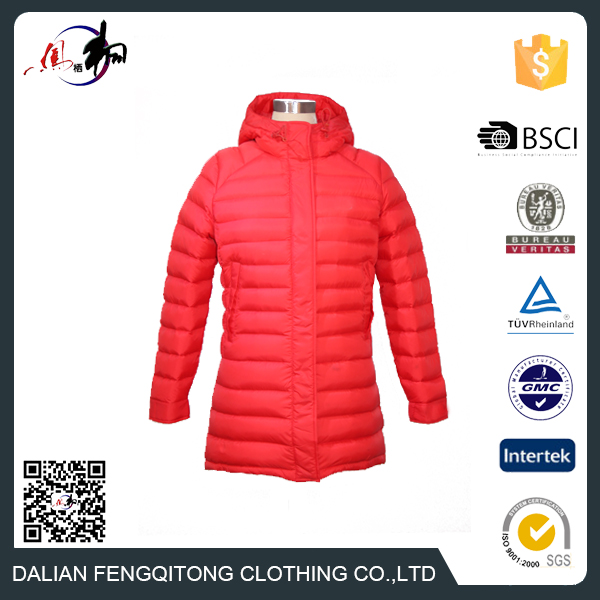 Fashionable stock women winter clothes Light Down Jacket