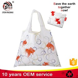 custom logo 600d polyester canvas tote bag for promotion shopping