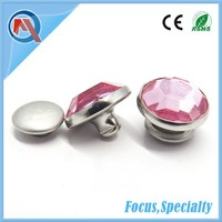 10mm Metal Crystal Diamond Stone Rivet For Bag Accessories