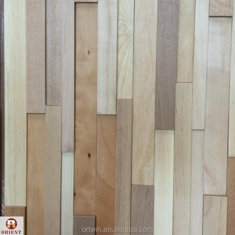 wooden decoration wall panel
