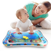 Inflatable Baby Toddler Infant Tummy Time Water play Mat