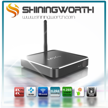 High quality Metal tv box M12N Amlogic S912 16G marshmallow tv box android