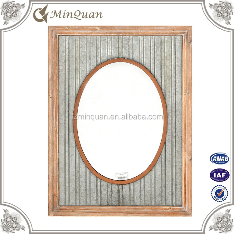 custom design huge big plain wood mirror frame