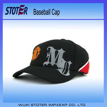 Wholesale custom promotional 6 panel sports cap , Blank galaxy fabric 6 panel snapback caps , 100%cotton women's washed cap