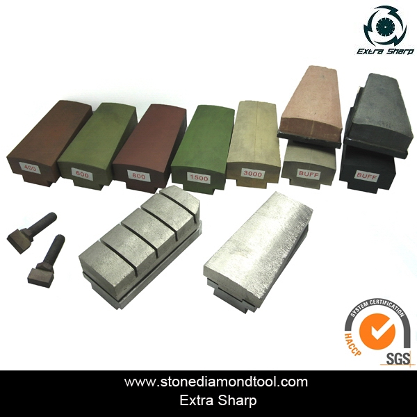 Diamond Tools Metal Bond Grinding Brick for Granite Grinding and Polishing