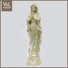 Paper mache Blessed Virgin Mary Madonna Figure Statue
