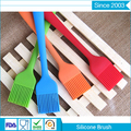 factory price easy to clean silicone BBQ baking food grade oil sauce brush for kitchen use