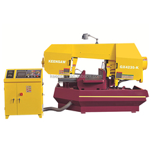 GX4235-K semi-automatic 0 to 45 degree angle metal cutting band saw machine