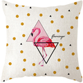 Qetesh Simple Fashion Decorative Plain Cotton Throw Pillow Cover
