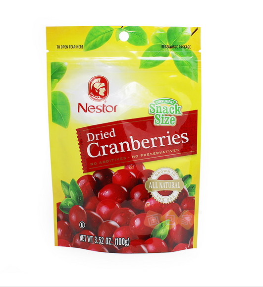 Plastic stand up frozen food laminated pouch bag for freeze dried fruit packing