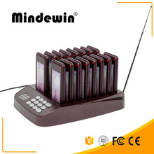 Mindewin Kitchen Coaster Pager Wireless Food Buzzer For Fast Food Restaurant