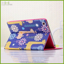 animal family flip stand case cover for ipadmini air for ipadmini4 factory case