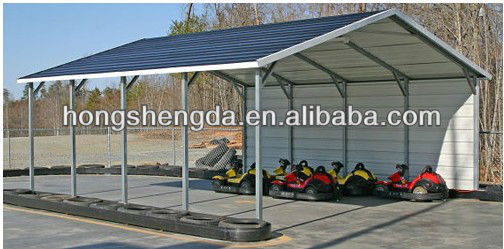 Prefab outdoor farm shelter / metal shed / canopy