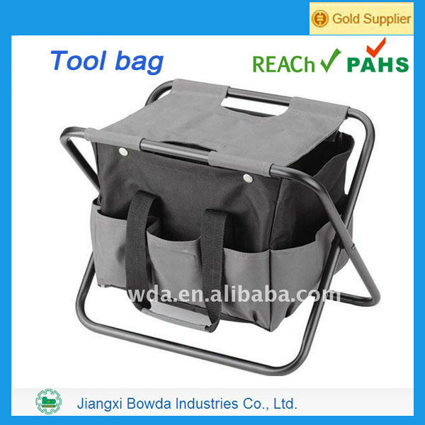 Multi-function Nylon Tool Bag With Seat