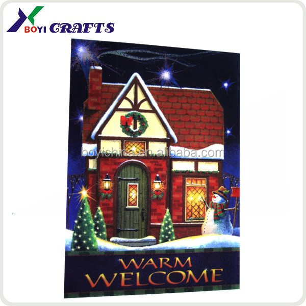 3 Dimensional Lenticular Poster/Christmas Picture 3D Lenticular Poster
