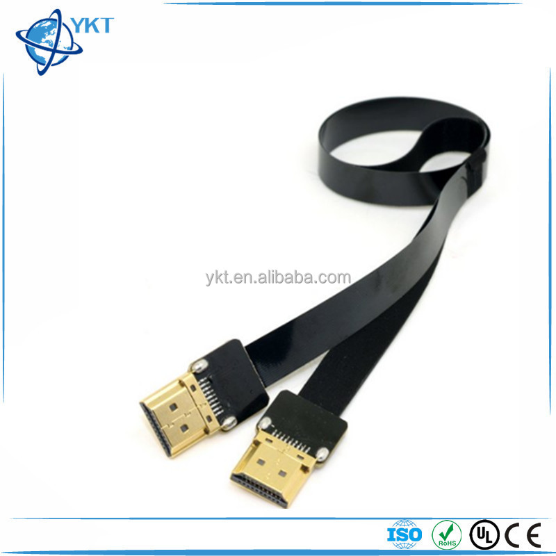 FPV HDMI Type A Male to HDMI Male HDTV FPC Flat Cable for Multicopter Aerial Photography