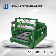 Vibrating screen, single-stage shale shaker screen with Zhengzhou manufacturer