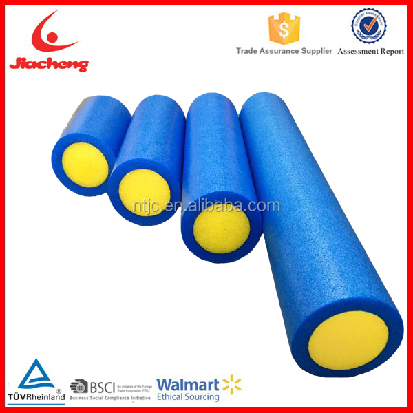 Main High Quality Solid Massage EPE Foam Roller With Two Colors