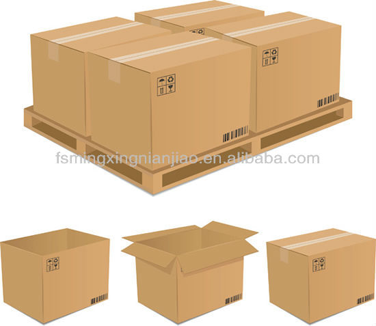 Brown Paper Packing Tape (Kraft paper coated with rubber adhesive)