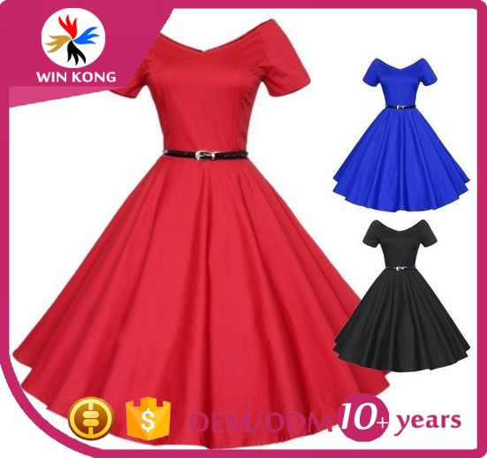 2016 hot selling products latest design fashion women dresses big size women clothing make in china