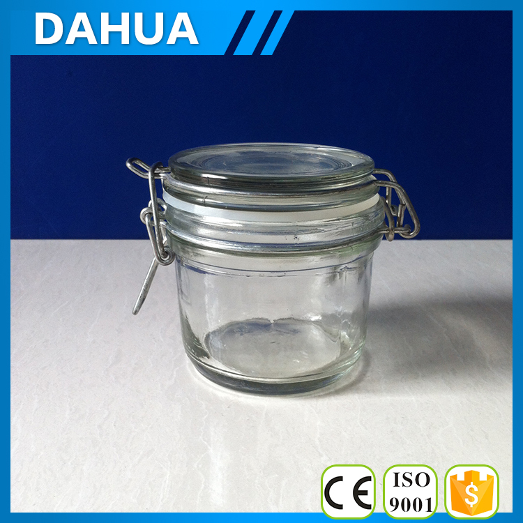 airtight glass storage jars with clip glass clip lid jars clip top glass jars