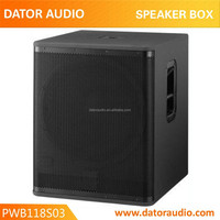 professional outdoors/home/theater speaker sound box system/passive wooden sound system