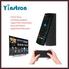 2.4G Mini Wireless Keyboard MX3 Air Mouse Multifunctional Infrared Remote Learning Air Control for Windows iOS MAC