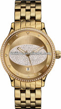 ladies automatic watch gold plated watch best luxury diamond watches for women 2012