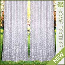 Home Textile European design Customize Fashion curtains drapes with valance