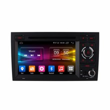 7 inch 2 din Android 6.0 Car DVD Player GPS 4G Radio WIFI stereo steering wheel control for Audi A4 2002-2008
