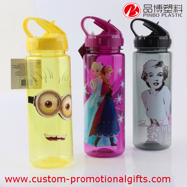 600ml/20oz customized plastic bottle for water