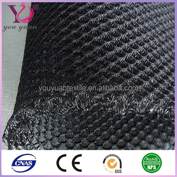2-4mm thickness 3D Knitted Spacer fabrics air mesh fabric for mattress