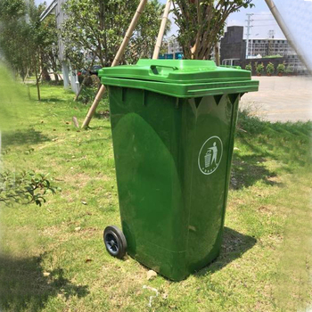 High quality durable 120 liter plastic trash can garbage can price