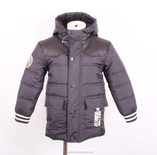 wholesale winter children's clothing kid leather jacket for boy