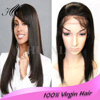 Top quality with cheap price 100% virgin brazilian hair lace front wig