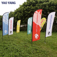 Online Shopping All Kind Of Polyester Fabric Custom Printed Flag
