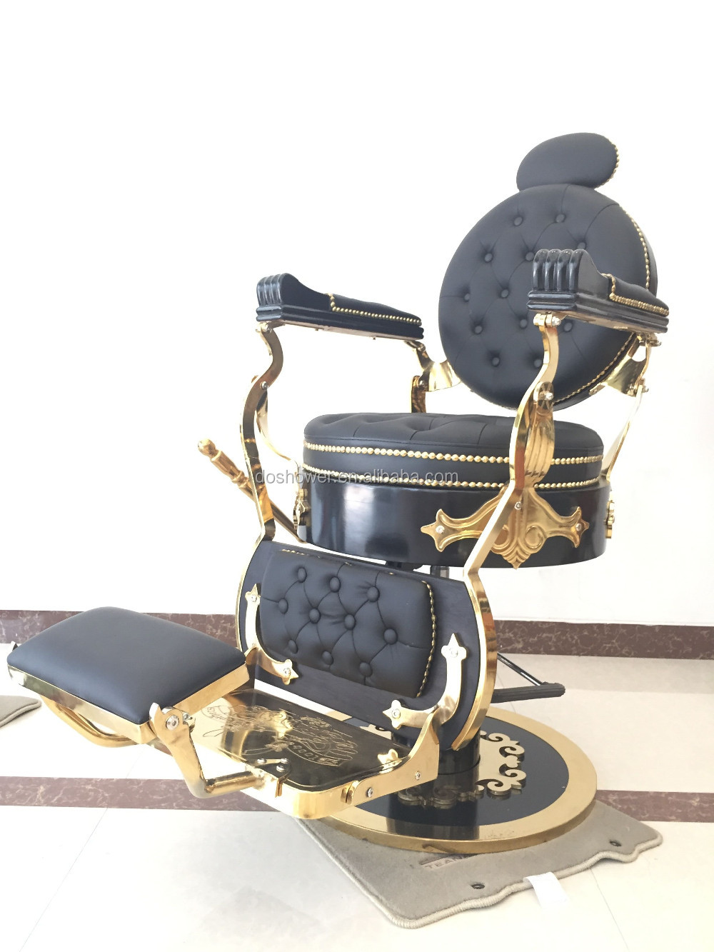 Doshower beauty salon furniture used haircut chair barber chairs for sale