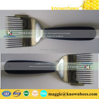 beekeeping equipments supplying uncapping fork /honey scraper