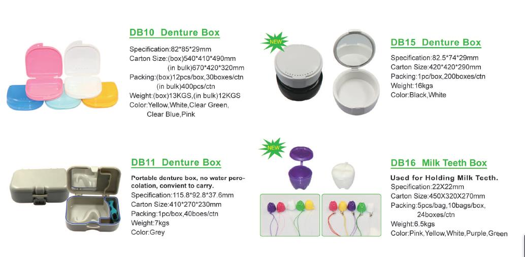 2018 Hot sale Denture False Teeth Retainer Box with low price