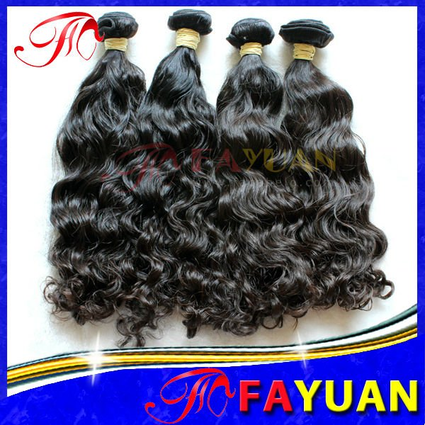 Tangle and Shed Free Cheap and High Quality 100 Human No Chemical Processed Hair Extensions