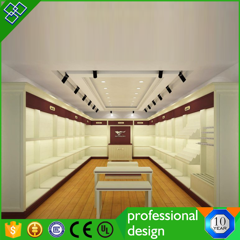 Trade Show Booth For Handbags Stand Display Shoe Store Design
