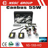 NSSC Quality Product Mid-Slim h7 bulbs 55W 22V canbus ballast hid kit