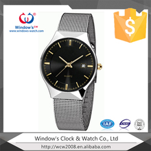 ladies and man's fashion watch customize logo